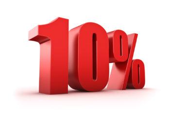 Скидка 10%!